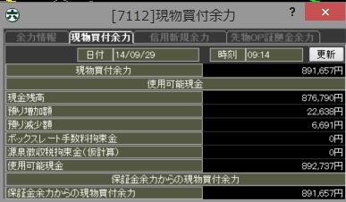 20140929_口座残高