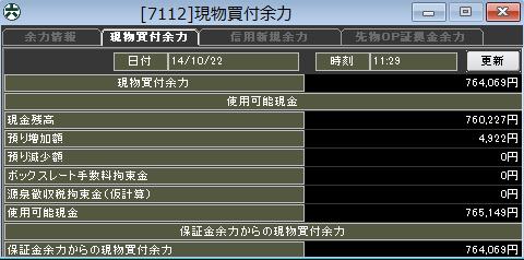 20141022_口座残高