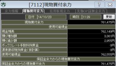 20141023_口座残高