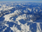 スイス上空
