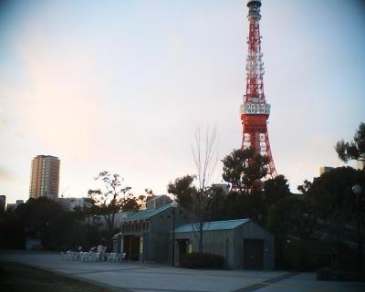 西暦表示の東京タワー:R2
