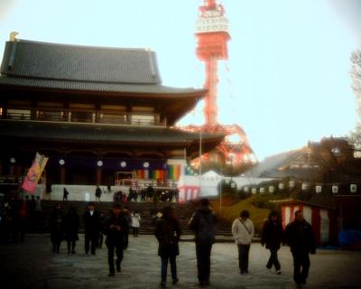 西暦表示の東京タワー:Entry