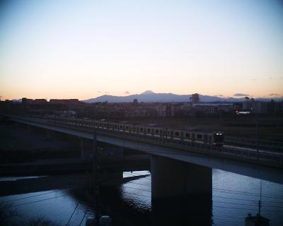 年の瀬の富士山:R2