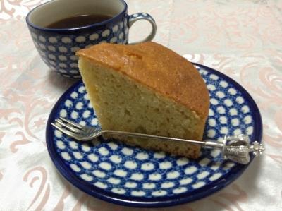 栗きんとんをパウンドケーキ2