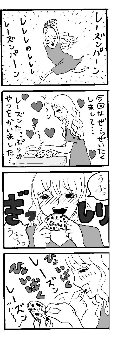 レーズンパン01
