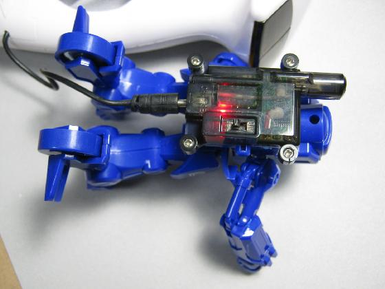 バトロボーグ20の修理(LiPo電池交換)治療