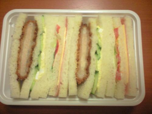 カツサンドイッチ~