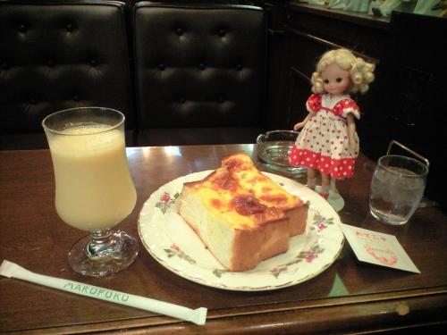ミックスジュース&チーズトースト