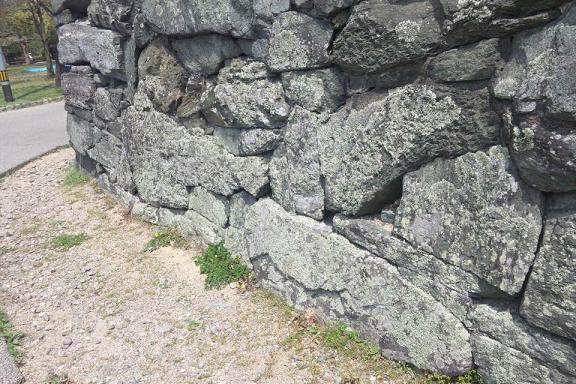 徳島城緑石垣