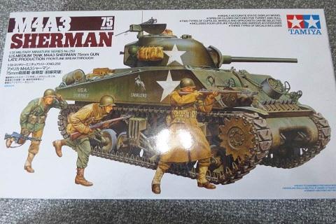 タミヤM4A3シャーマン戦車箱