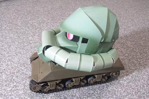 M4ザクタンク