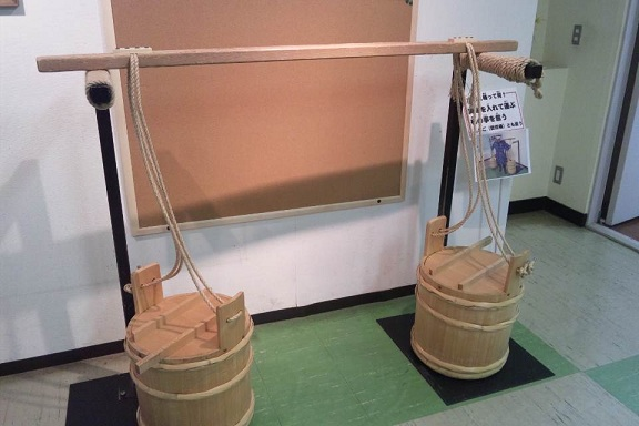 熱海城 肥桶