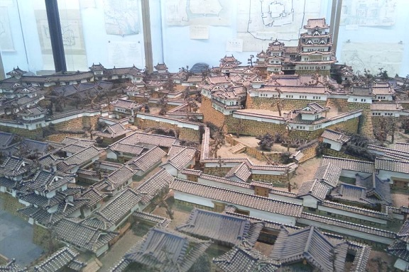 熱海城 松山城模型