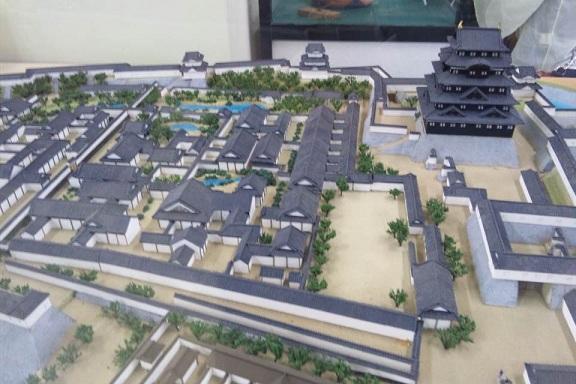 熱海城 江戸城模型