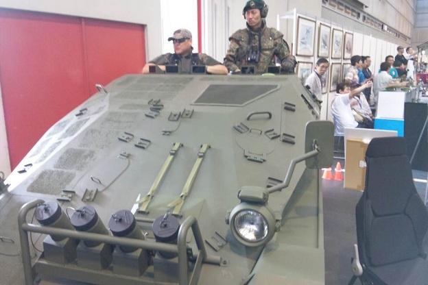 ドイツ空挺戦車原寸大HB