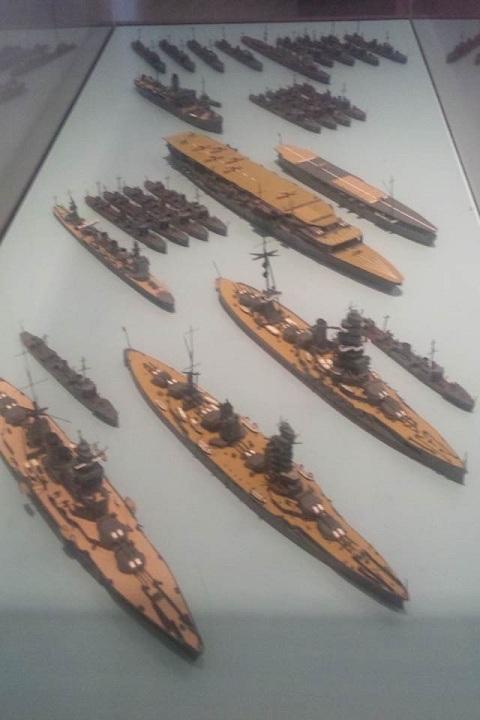 清水港艦隊模型