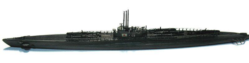 伊号58 プラモ
