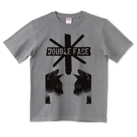 Nobigao Double Face Cat Tシャツ