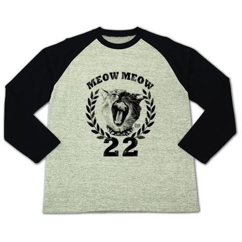 Nobigao エンブレム猫Tシャツ