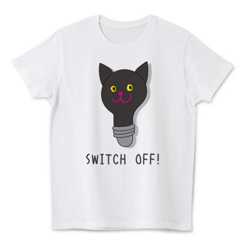 Nobigao節電猫Tシャツ
