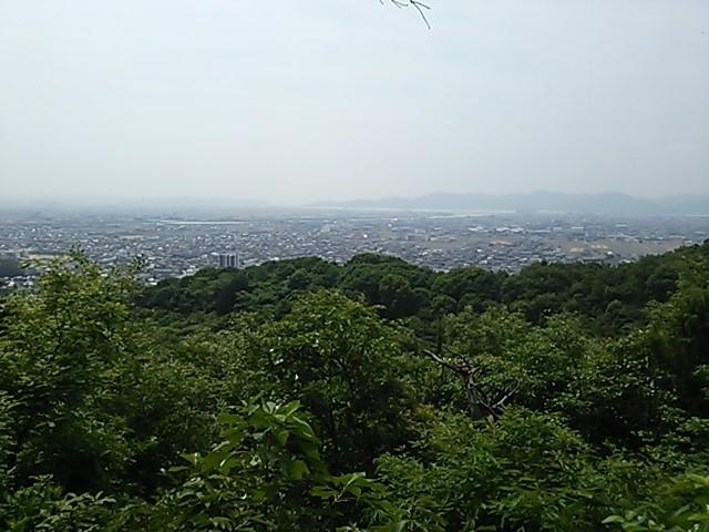130605 操山 三畳岩展望台