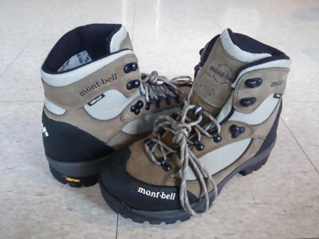 130612 モンベル 登山靴