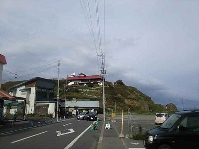 130921 小樽 青塚食堂前