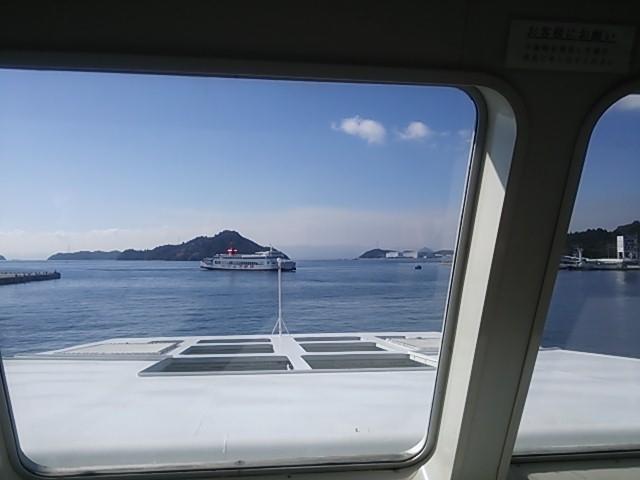 131002 直島行きフェリー
