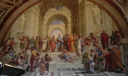 バチカン美術館 ラファエロの間