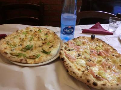 トラステヴェレのピザ屋さん