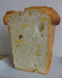 コーン入り食パン