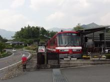 14:46 入口に置かれている列車・・・中は休憩所になっています