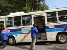 15:25 乗ってきたバスです。