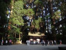 16:05 高千穂神社 到着