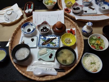 7:04 夫の朝食