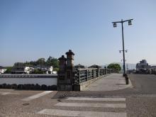 8:18 花月川にかかる一新橋
