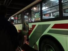 麻生から路線バスに乗ります