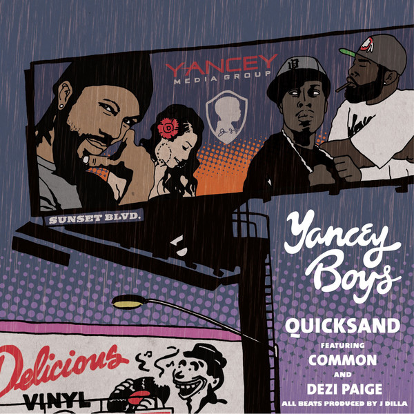 Dilla all day!Yancey Boys - Quicksand - EP (Pro. J Dilla a.k.a. Jay Dee)