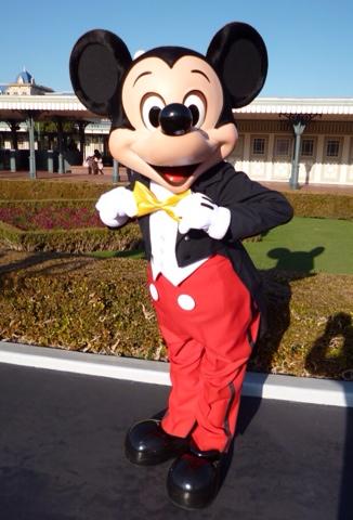 ミッキーマウス 燕尾 メインエントランス Mickey Mouse