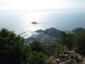 蕗岳から望む集落