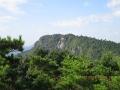 蕗岳から望む白嶽方面