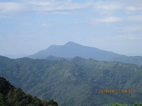 白嶽より倉岳