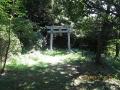 矢岳神社鳥居