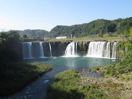 原尻の滝全景