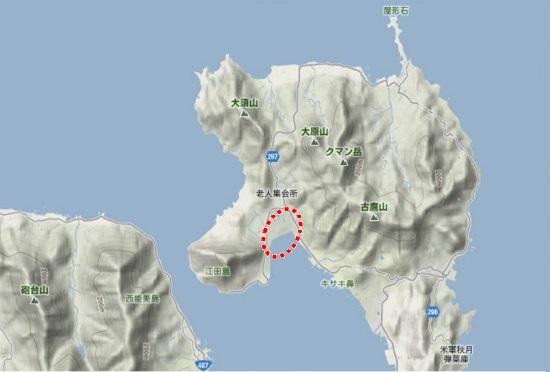 1)江田島町北部・大原特借宿舎