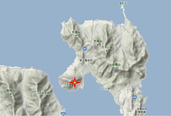 1)江田島町北部・品覚寺