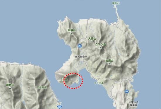 1)江田島町北部・井戸