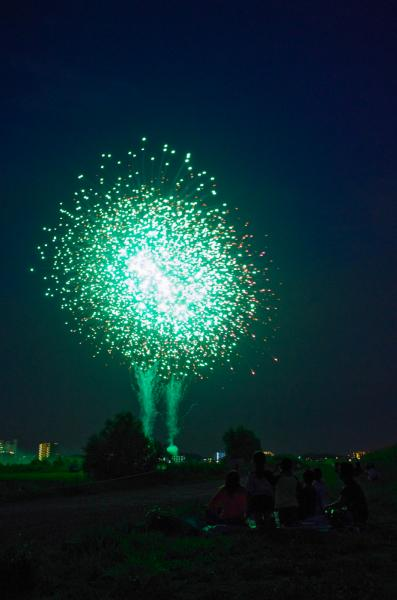 松戸の花火2013-3 / Firework of Matsudo-city 2013-3