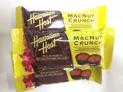 hawaiian host macnut crunch