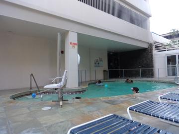 イリマホテルプール1